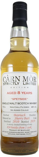 Carn Mor Strictly Limited BenRiach 8-Year-Old