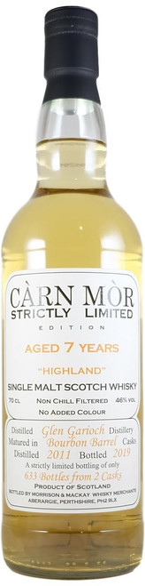 Carn Mor Strictly Limited Glen Garioch 7-Year-Old