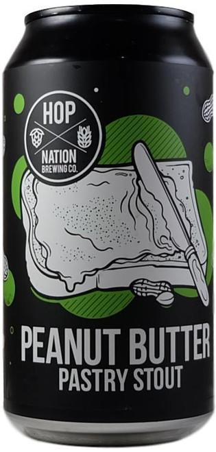 Hop Nation Peanut Butter Pastry Stout