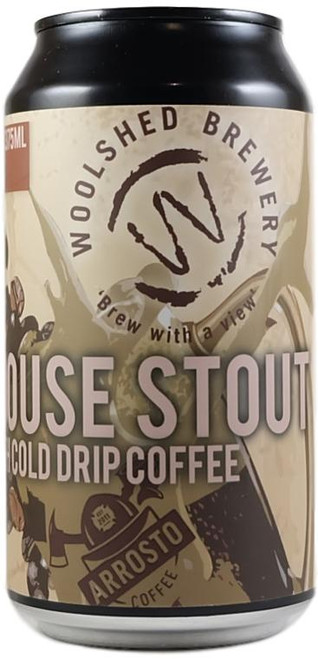Woolshed Firehouse Stout With Cold Drip Coffee