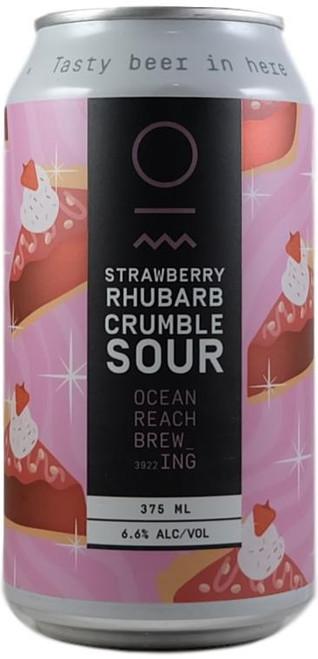 Ocean Reach Strawberry Rhubarb Crumble Sour