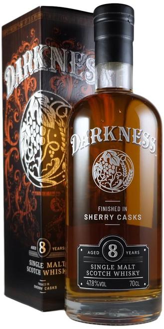 Darkness 8-Year-Old Sherry Cask Finish Single Malt Whisky
