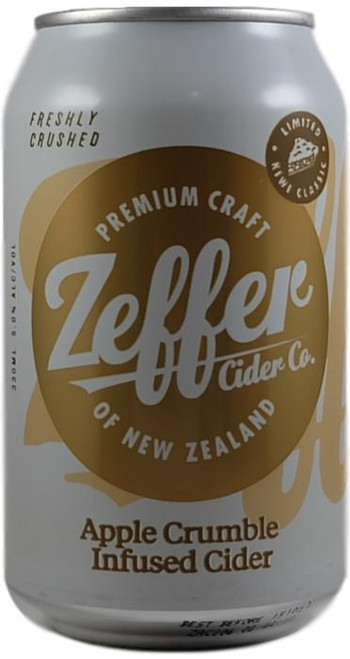 Zeffer Apple Crumble Infused Cider
