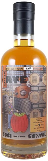 Boutique-y New York Distilling Company Rye 2-Year-Old Batch 2