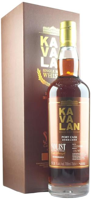 Kavalan Solist Port Cask Single Cask Whisky