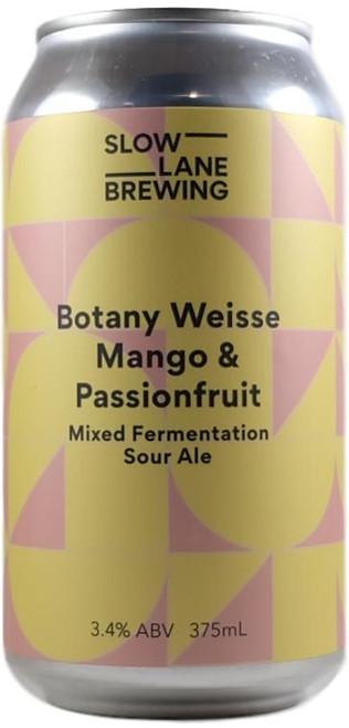 Slow Lane Botany Weisse Mango & Passionfruit Sour Ale