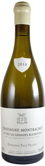 Domaine Paul Pillot Chassagne-Montrachet 1er Cru Les Grands Ruchottes 2018