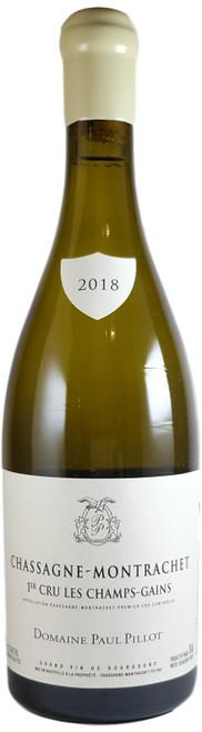 Domaine Paul Pillot Chassagne-Montrachet 1er Cru Les Champs-Gains 2018