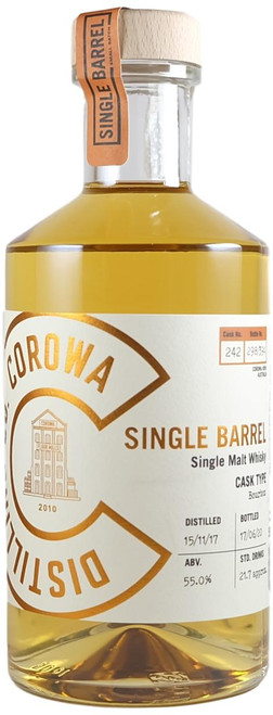 Corowa Peated Ex-Bourbon Single Barrel #242 Australian Single Malt Whisky