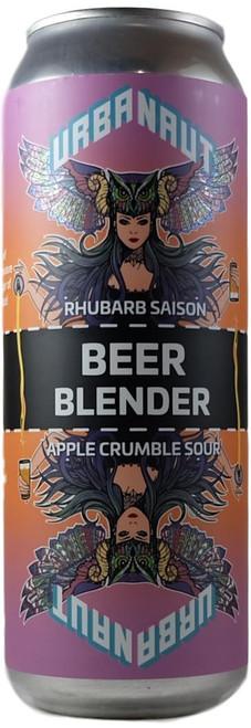 Urbanaut Beer Blender Rhubarb Saison x Apple Crumble Sour - 2 x 250ml Cans