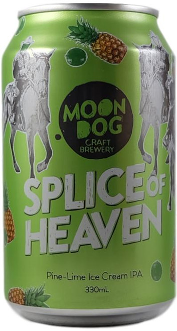 Moon Dog Splice of Heaven Pine Lime Ice Cream IPA