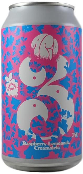 3 Ravens Raspberry Lemonade Creamsicle Sour