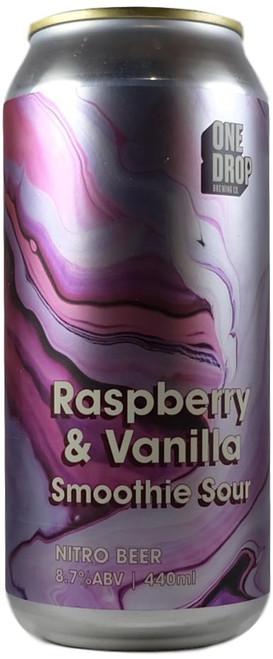 One Drop Raspberry & Vanilla Smoothie Sour 440ml