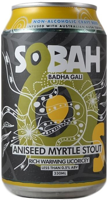 Sobah Aniseed Myrtle Stout