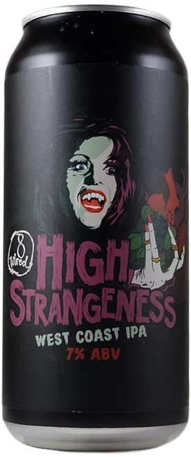 8 Wired High Strangeness West Coast IPA 440ml