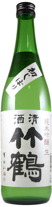 """Taketsuru: Junmai-ginjo Nama """"Hatsu-shibori"""" R1BY 720ml"""
