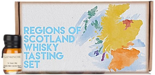Regions Of Scotland Whisky Tasting Set by Drinks By The Dram