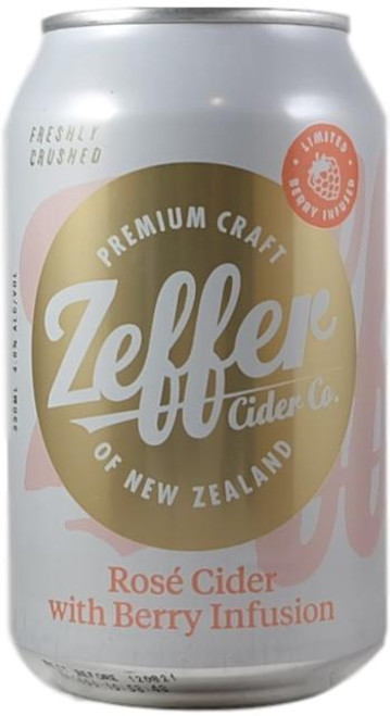 Zeffer Rose Cider With Berry Infusion