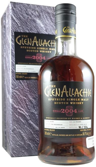 GlenAllachie 2004 Single Cask Bottled For Whisky & Alement