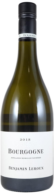 Benjamin Leroux Bourgogne Blanc 2018