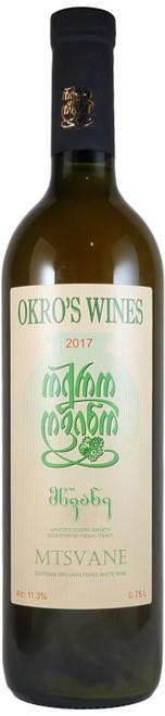 Okro's Wines Mtsvane 2017