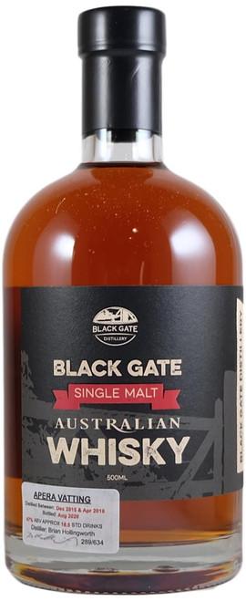 Black Gate Apera Vatting Australian Single Malt Whisky
