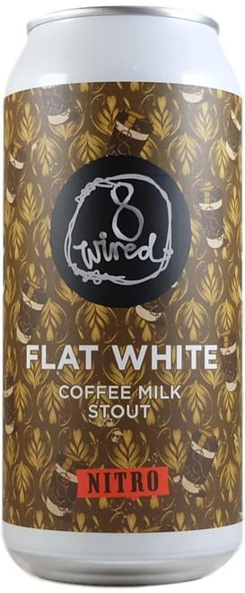 8 Wired Nitro Flat White Coffee Milk Stout 440ml