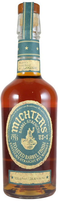 Michter's Straight  Rye Toasted Barrel Finish 2020 Release