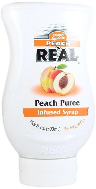 Reàl Peach Puree Infused Syrup