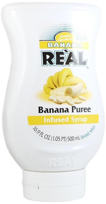 Reàl Banana Puree Infused Syrup