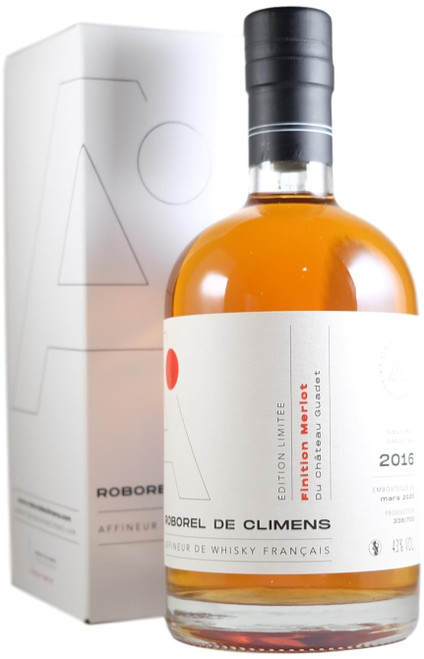 Roborel de Climens Finiton Merlot du Chateau Guadet French Whisky