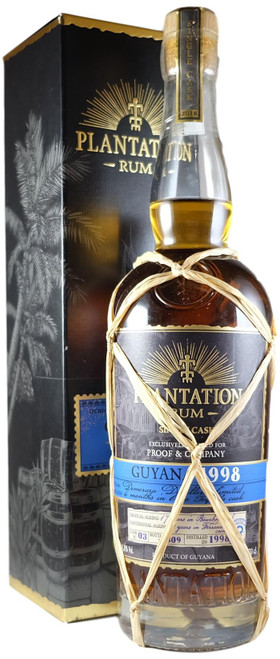 Plantation Single Cask Guyana 1998 'Proof & Co' Rum