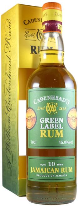 Cadenhead Jamaican 10-Year-Old Green Label Rum