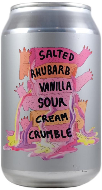 Lervig Salted Rhubarb Vanilla Sour Cream Crumble