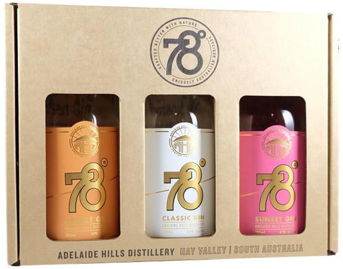 78 Degrees Gin Tasting Pack