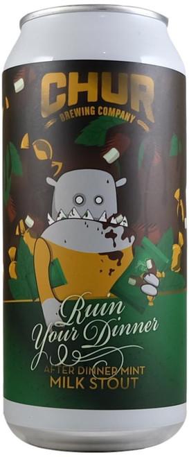 Chur Ruin Your Dinner After Dinner Mint Milk Stout 440ml