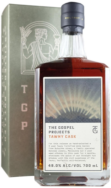 The Gospel Projects Tawny Cask Straight Rye