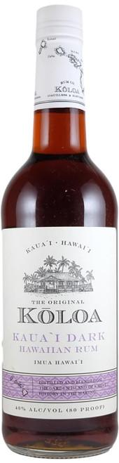 Koloa Kauai Dark Hawaiian Rum