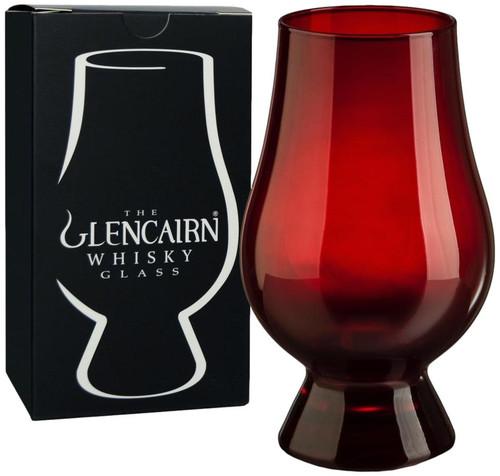 The Red Glencairn Whisky Glass