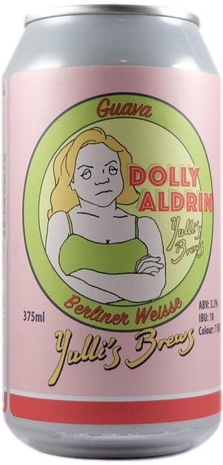Dolly Aldrin' Guava Berliner Weisse