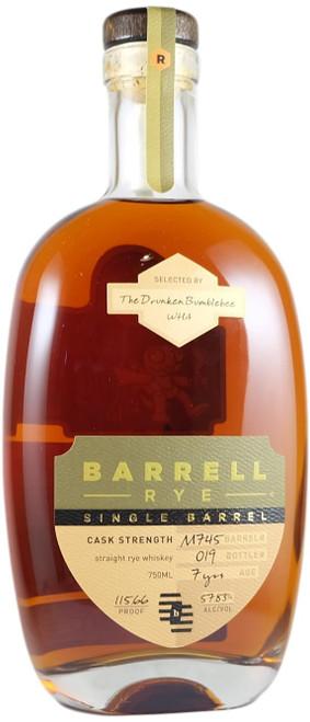 Barrell Single Barrel Rye 'Drunken Bumblebee' Whiskey Hunt Australian Exclusive
