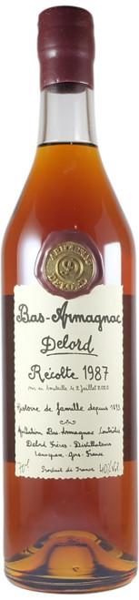 Delord 1987 Bas Armagnac