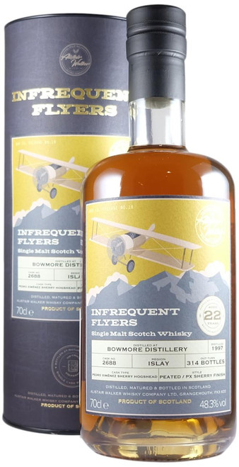 Infrequent Flyers Bowmore 1997 22-Year-Old Single Cask