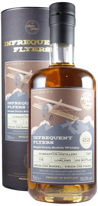 Infrequent Flyers Dumbarton 1997 22-Year-Old Single Grain