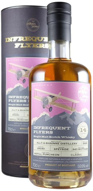 Infrequent Flyers Allt-a-Bhainne 2005 14-Year-Old Single Cask