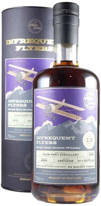 Infrequent Flyers Glen Spey 2006 13-Year-Old Single Cask