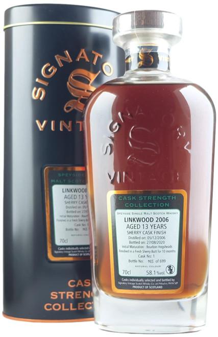 Signatory Vintage Linkwood 2006 13-Year-Old (#1) Single Malt Scotch Whisky