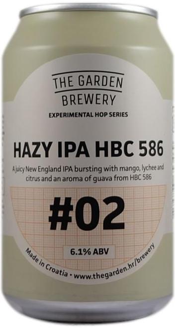 The Garden  Hazy IPA HBC 586 #2