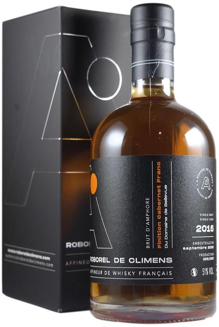 Roborel de Climens Finiton Cabernet Franc Amphore du Domaine de Bellevue French Whisky