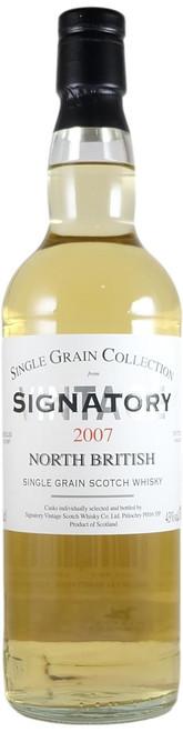 Signatory Vintage North British 2007 Single Grain